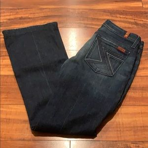 7 for all mankind flynt jeans size 28